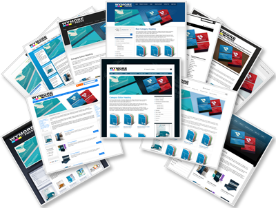 B2B and B2C web to print print sites